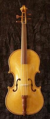 Frühbarock-Violine nach ikonographischen Quellen / Instrumente des Freiberger Domes / Caroline Zillmann / Meißen 2009